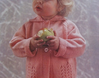 Vintage Knit PDF Pattern Toddler Sweater 6177