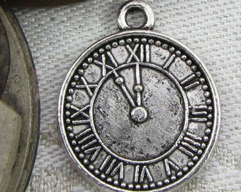 1 or 4, Clock Tower, Clock Face, Clock Dial, Clock Charm, Vintage Clock, Clock Faces, Steampunk, Antique Clock Face, TRV009