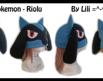 Pokemon Hat - Riolu