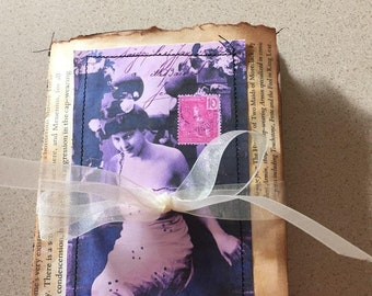 Mini Altered Book Page Journal