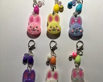 Adorable Easter Bunny Charms