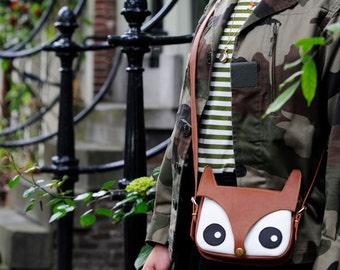 La Lisette Leather Fox Bag Original Design foxy bag animal bag shoulder bag hand bag women's bag