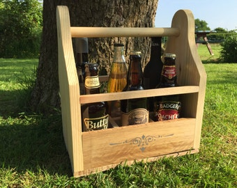 Beer / wine caddy holder