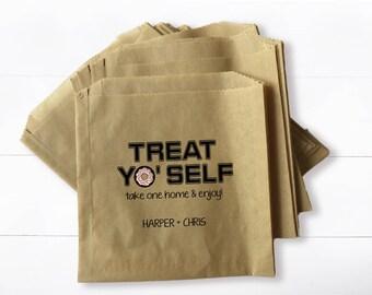 Wedding Donut Pastry Bag -  Treat Yo' Self