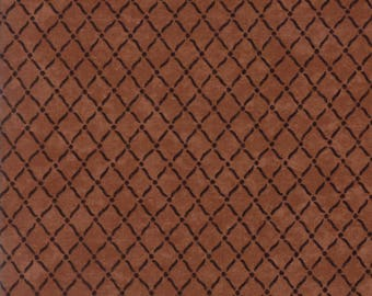 Moda COUNTRY ROAD Quilt Fabric 1/2 Yard By Holly Taylor - Terra Cotta 6666 16