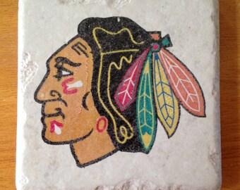 Chicago Blackhawks Coasters Set of 4
