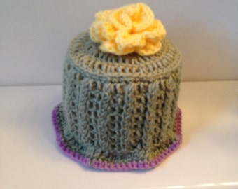 Crocheted Toilet Paper Roll Cover, TP Cover, Toilet Paper Roll Topper