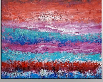 Large Painting, Oil Painting, Original Painting, Canvas Wall Art, Framed Art, Abstract Art, Impasto Painting, Large Art, Abstract Wall Art