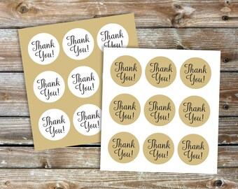 Wedding Favor Stickers, Thank you Stickers for Wedding Favors