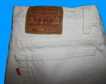 Levis 550 Size 34 x 30   Made in the USA