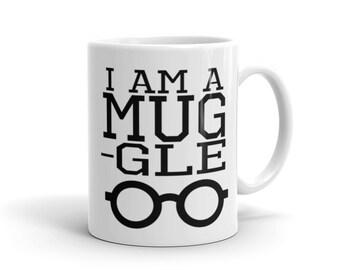 """Harry Potter inspiriert """"Ich bin ein Becher-Gle"""" Keramik-Becher"""