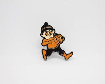 Pumpkin Goblin Hard Enamel Pin
