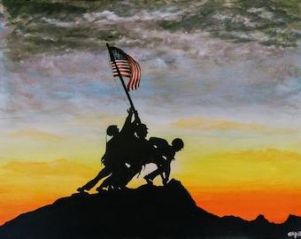The Taking of Iwo Jima