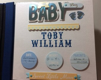 Baby's Arrival and Special Moments Personalized Album