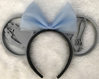 Cinderella glass slipper 3D Ears