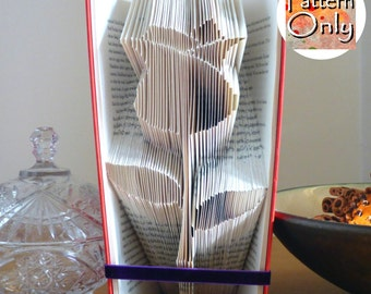 Rose Folded Book Art Pattern
