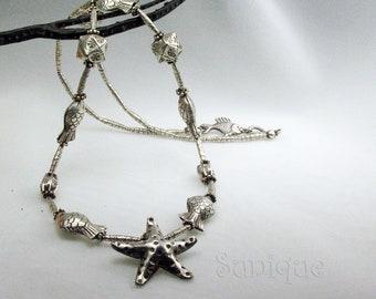 Silver Nautical Necklace