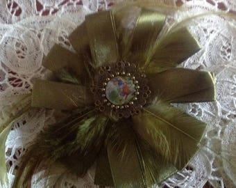 PIN or clip art textile, diameter 14cm