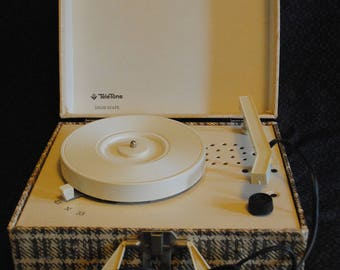 Tele-Tone Solid State portable record player