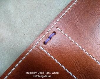 MULBERRY BERRY DUO Traveller's Journal range. Midori, Field Notes, Moleskine, Rhodia. Passport/Pocket/A6/A5 etc.