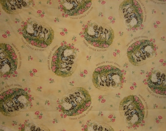 Beatrix Potter Three little kittens Quilting Treasures ( BTHY )
