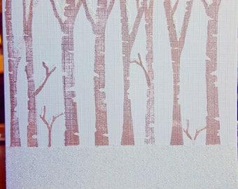 Demo card Snowy Trees