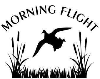 Morning Flight Decal