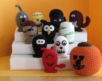 Halloween Bowling Set 2 - Crochet Pattern