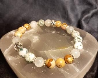Stress Relief Custom Healing Crystal Bracelet