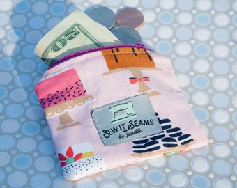 Cakes zipper pouch- mini size