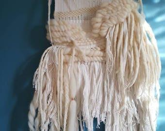 Cream and copper weaving