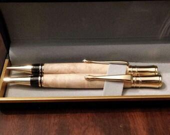 Sale***Wood Pen/Pencil Set