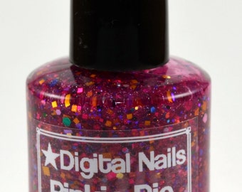 Pinkie Pie: Nail lacquer inspired by Pinkie Pie of My Little Pony