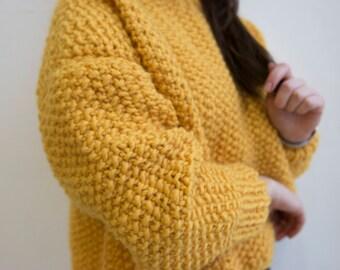"""Oversize sweater """"Yolk"""""""