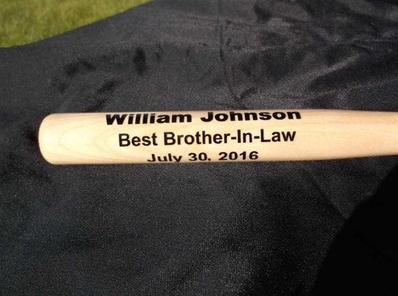 customized mini baseball bat, personalized baseball bat, ring bearer gift, trophy bat, baby gift, gift for coach, wedding party favor,