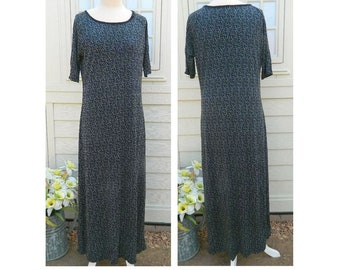 Laura Ashley Maxi Dress - Size Large