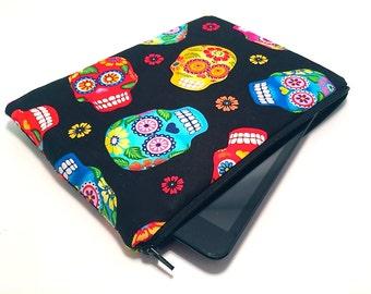 Sugar Skull iPad Case, iPad Air Case, iPad Mini Case, Tablet Case, Fire HDX Case, Galaxy Note Case, Galaxy Tab Case, Nexus, Cute iPad Case