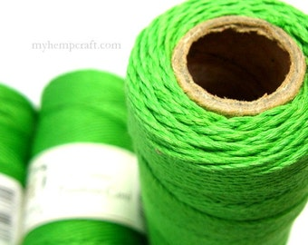 Green Bamboo Cord, 1mm 205ft Craft Cord