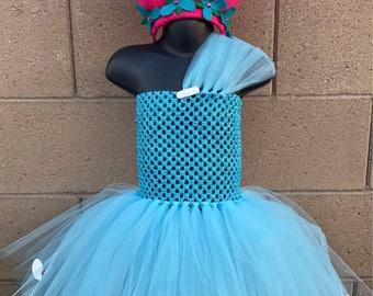Trolls Princess Poppy Tutu Dress