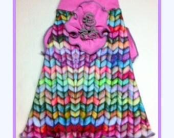 To Order Spoonflower Organic Cotton Knit Slip Dress