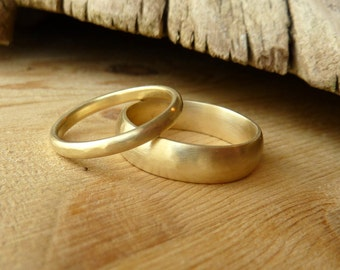 His and Her Wedding Bands-deposit listing