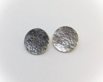 Silver Pure Forged stud earrings