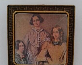 Bronte Sisters Beautiful Brooch