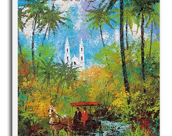 Art Bahamas Travel Poster Wall Decor Print Gift  xr551