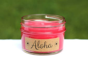 Aloha Handpoured Soy Candle