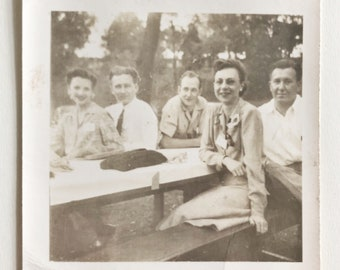 Original Vintage Photograph | The Gang in St Louis | 1941