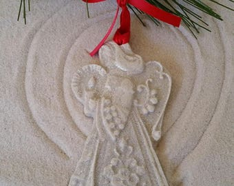ANGEL Made with Sand Ornament