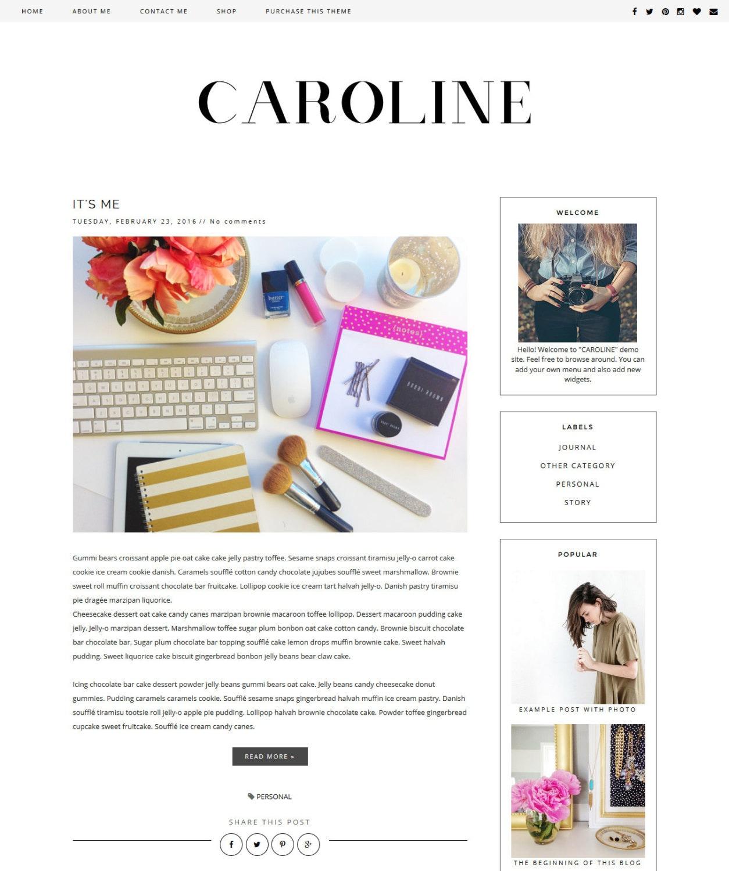 Atemberaubend Blogger Einfache Vorlage Zeitgenössisch - Entry Level ...
