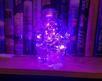 Crystal Head Bottle Light