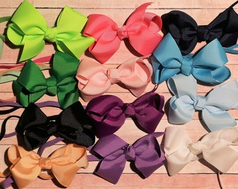 Infant 3 inch bow headbands